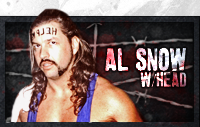 Al Snow with Head