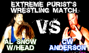 AL SNOW vs CW ANDERSON at Extreme Reunion 4/28/12 in Philadelphia, PA