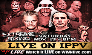 LIVE on iPPV Saturday November 17th 2012 8pm eastern