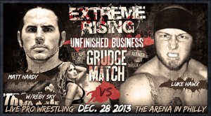 Matt Hardy vs Luke Hawx